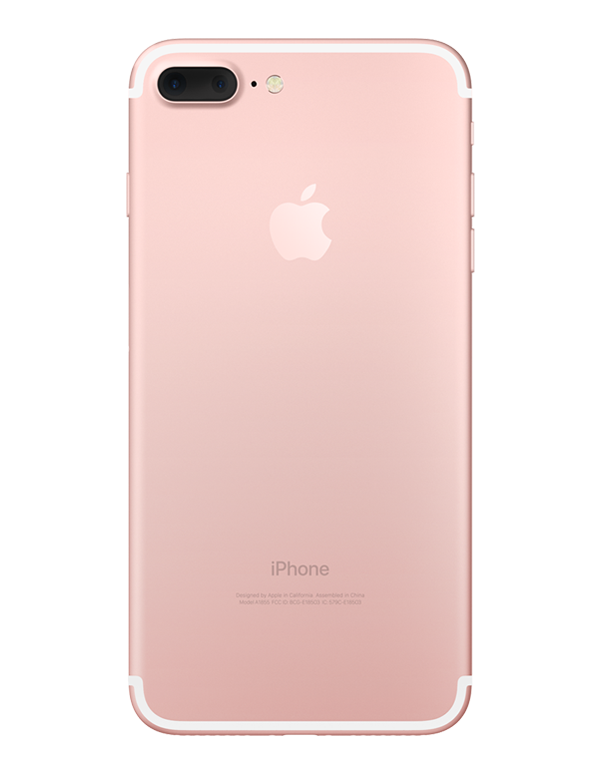 iPhone 7+-Apple-Unlocked-Rose Gold-Excellent-128GB