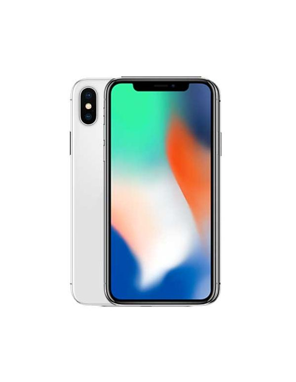 IPhone X-Apple-Unlocked-Silver-Excellent-64 GB