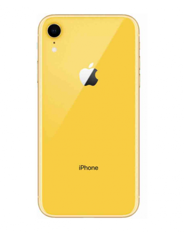 iPhone XR-Apple-Unlocked-Yellow-Excellent-64GB